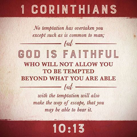 Image result for 1 corinthians 10 13 niv