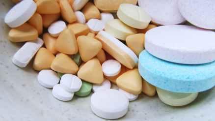 white blue and purple multi shape medicine pills